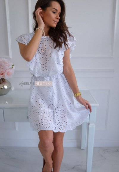 Sukienka WINGS biała