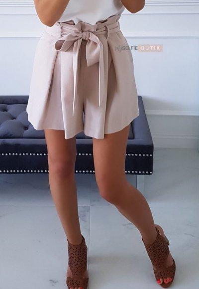 Spodnie ROMANCE beżowe 1