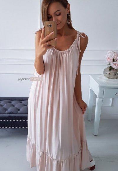 Sukienka MIAMI beżowa
