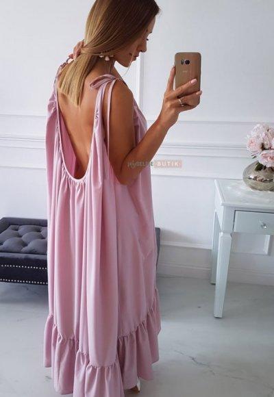 Sukienka MIAMI różowa