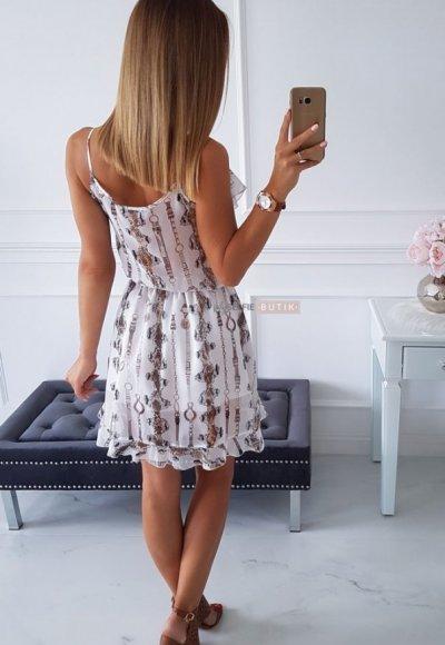 Sukienka ROSSA wężowy print 2