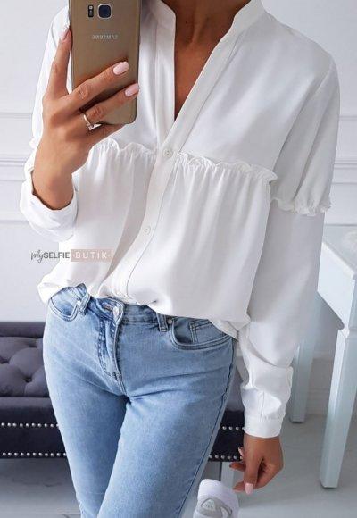 Koszula LONGORIA biała