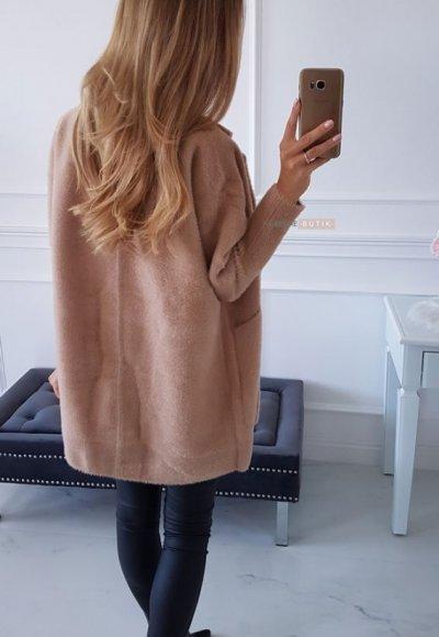 Płaszcz ALPAKA camel 1
