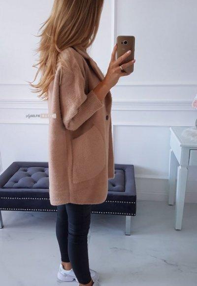 Płaszcz ALPAKA camel 2