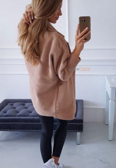 Płaszcz ALPAKA camel 3
