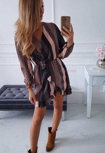 Sukienka SEPTEMBER wzory 1