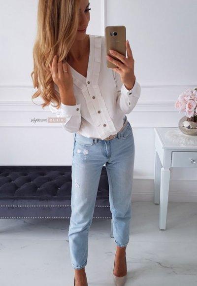 Koszula TOLEDO biała