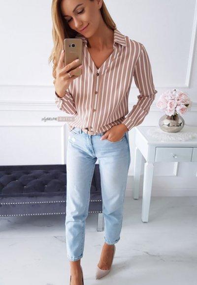 Koszula POLO stripes