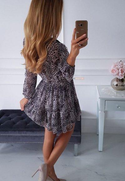 Sukienka TORRESA cętki 1