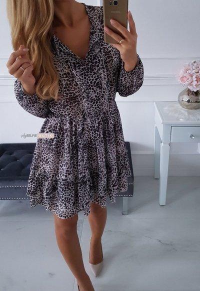 Sukienka TORRESA cętki 2