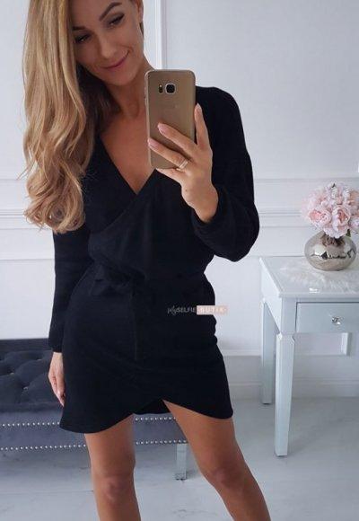 Sukienka CAPRI czarna