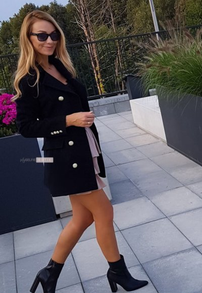 Płaszcz VESCA czarny