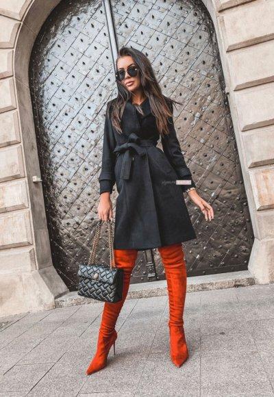 Płaszcz BROADWAY czarny 2