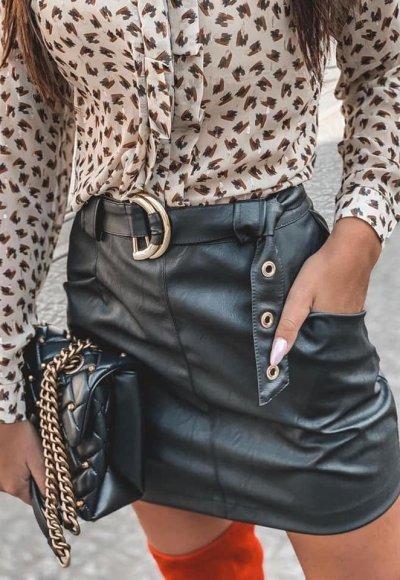 Spódnica POCKET czarna