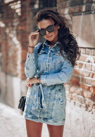 Sukienka DENIM jeans