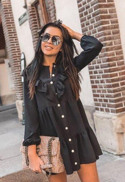 Sukienka CLAIR black