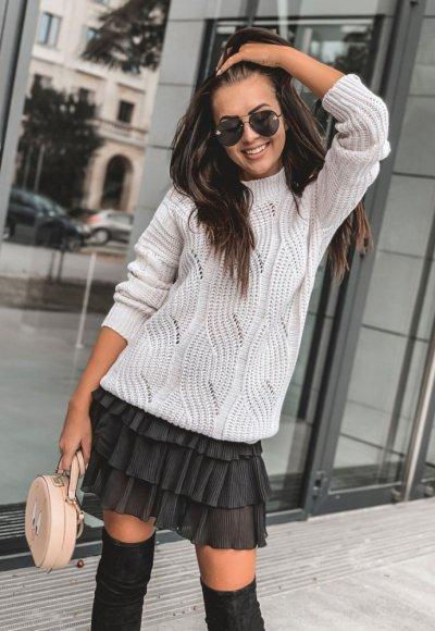 Sweter TIFFI grey