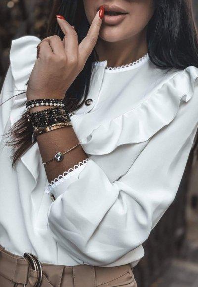 Bluzka MONACO white