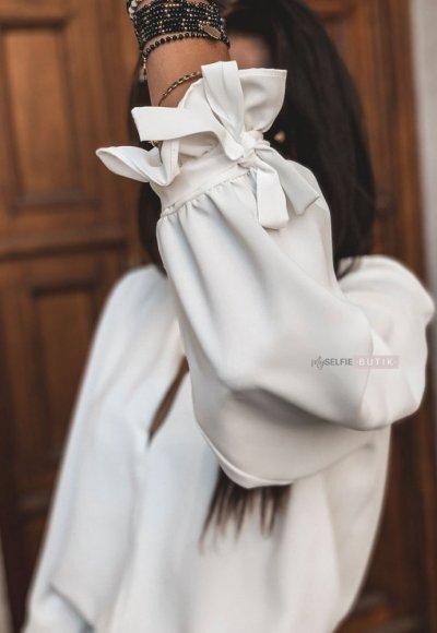 Bluzka LA VIE biała 4