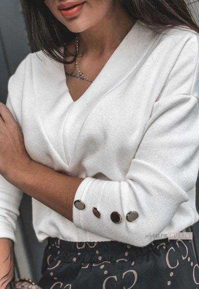 Sweter MIKO ecru