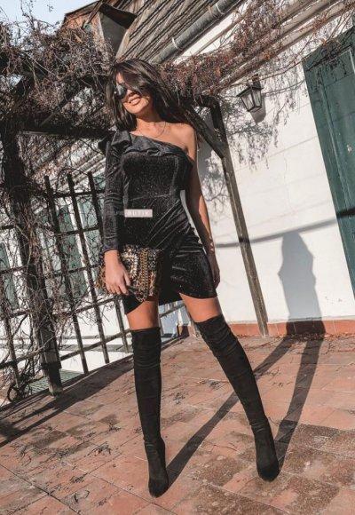 Sukienka LILAT czarna