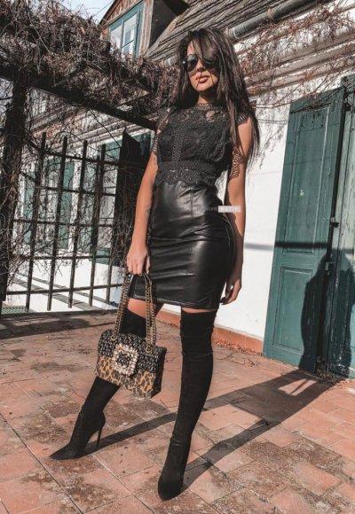 Sukienka DROLE czarna