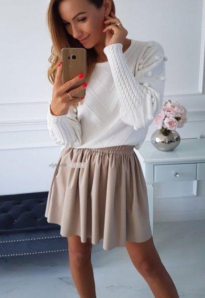 Spódnica BLANKA light beige
