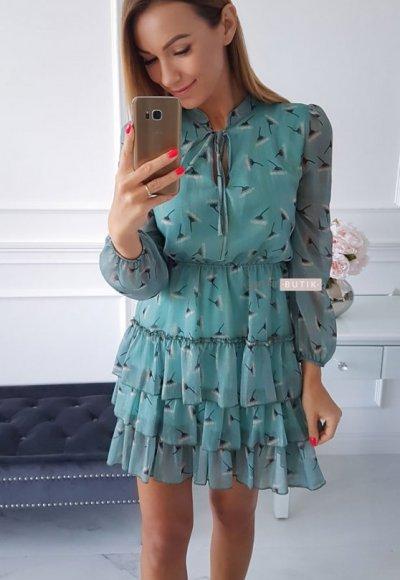 Sukienka SWING mint 1