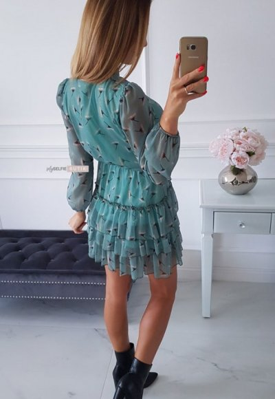 Sukienka SWING mint 2