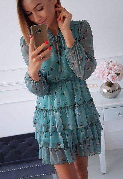 Sukienka SWING mint 3