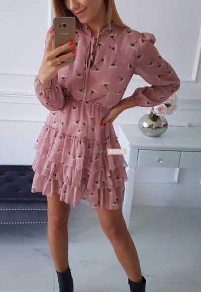 Sukienka SWING pink