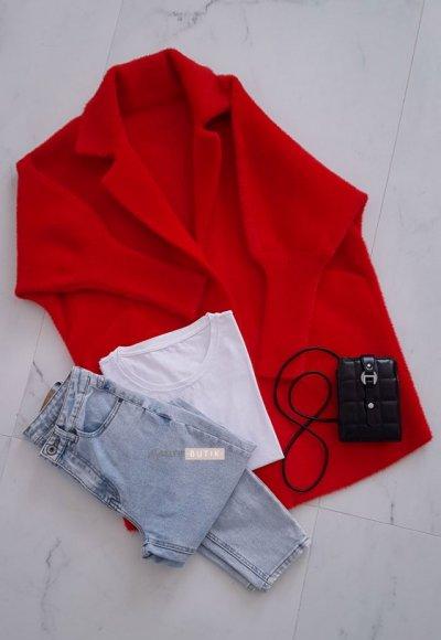 Płaszcz ALPAKA red