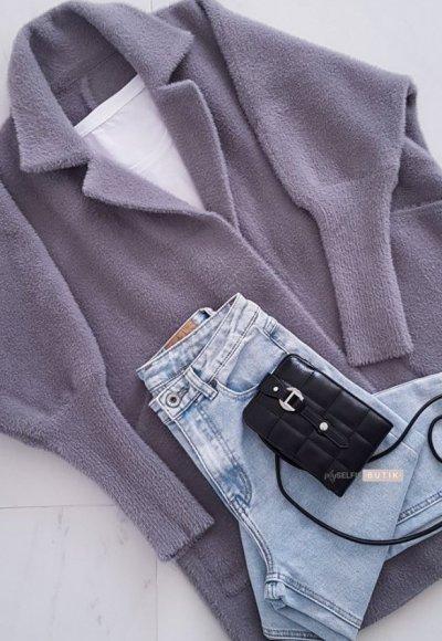 Płaszcz ALPAKA grey