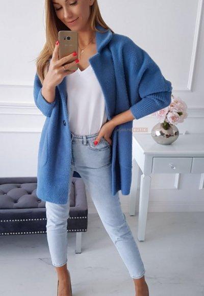Płaszcz ALPAKA jeans 2