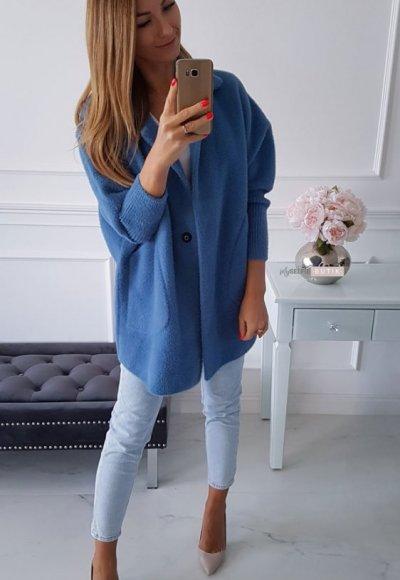 Płaszcz ALPAKA jeans 3