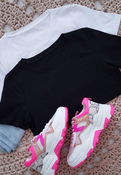 T-shirt SLEEV czarny
