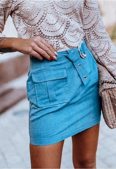 Spódnica POCKET jeans