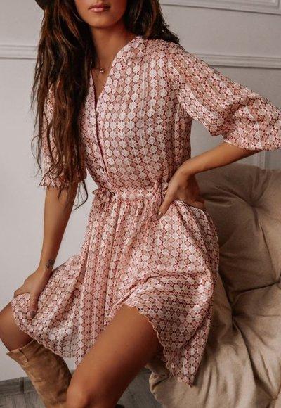 Sukienka MOSCOW wzory