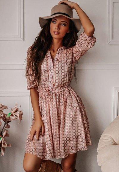 Sukienka MOSCOW wzory 1