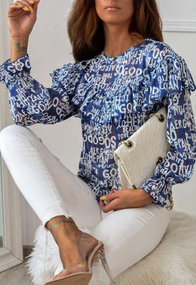 Bluzka PRETA blue