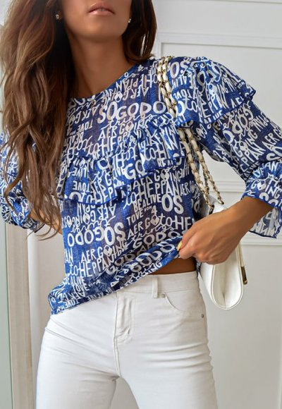 Bluzka PRETA blue 1