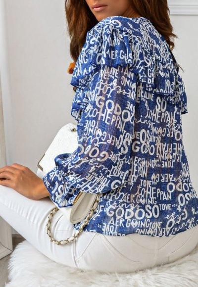 Bluzka PRETA blue 2