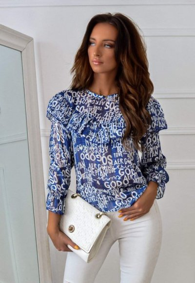 Bluzka PRETA blue 3