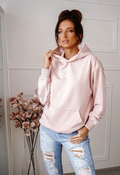 Bluza INEZ powder pink
