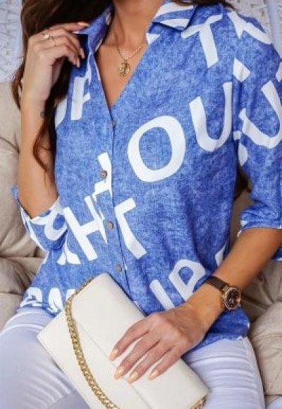 Koszula ROKSI blue