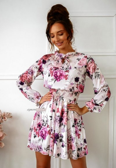 Sukienka MEADOW w kwiatowy wzór