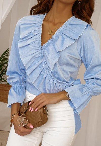 Bluzka SELENA blue