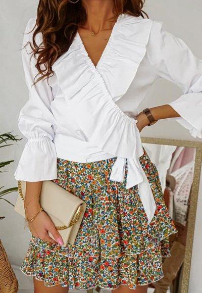 Bluzka SELENA white