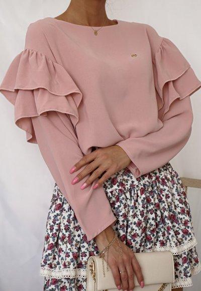 Bluzka MOKO różowa 3