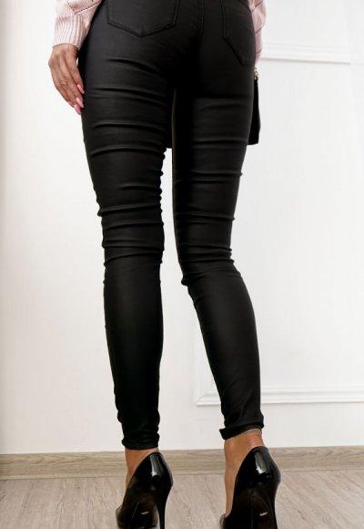 Spodnie ILLINOIS woskowane czarne 3